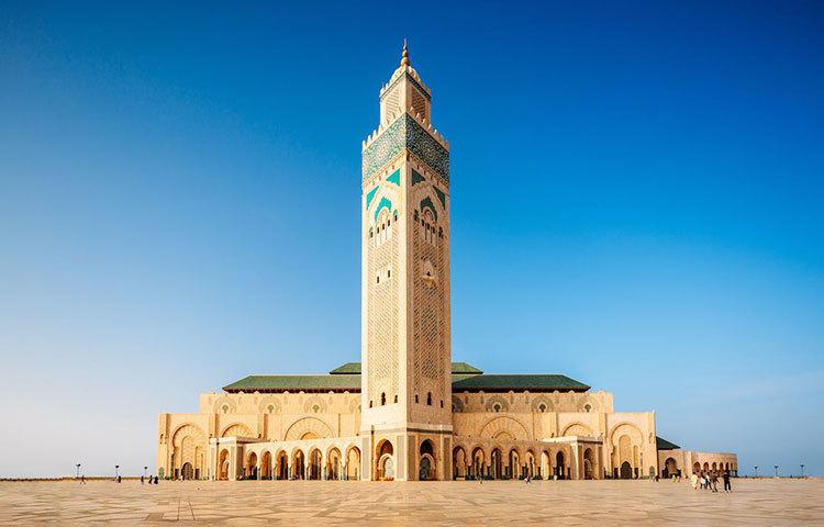 হাসান আল মসজিদ। মস্কোতে এই মসজিদটির অবস্থান।