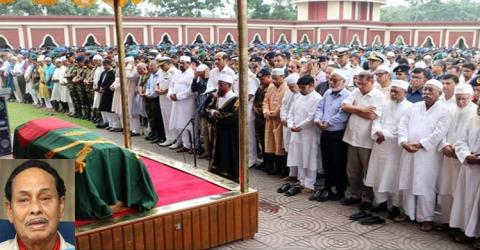 এরশাদের মরদেহ জাপার কেন্দ্রীয় কার্যালয়ে থাকবে ৩ ঘণ্টা